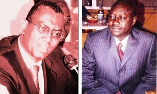 L'ex patron de l'ARTP, Daniel Goumalo Seck et son successeur Ndongo Diaw