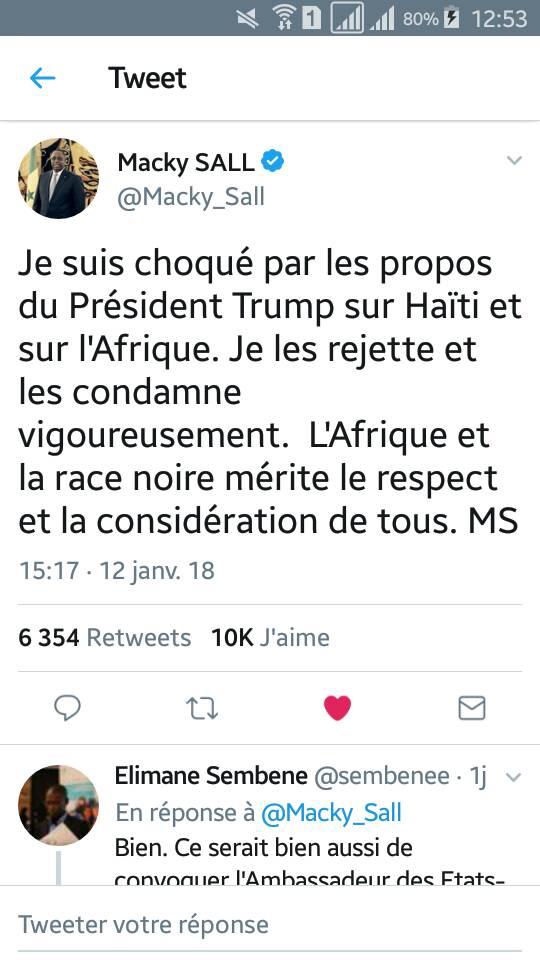 El Haj Kassé assume la faute de conjugaison sur le tweet de Macky Sall et précise que c'est lui qui...