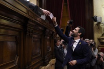 Catalogne: l'indépendantiste Roger Torrent (ERC) élu président du nouveau Parlement catalan