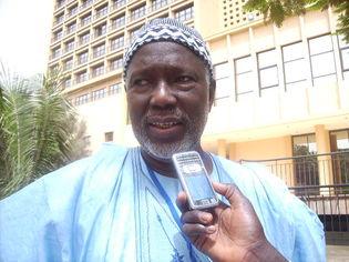 Le président d'honneur du ROPA, Mamadou Cissokho