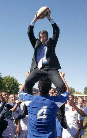 France-Régionales 2010 :  Nicolas Sarkozy, Marque Déposée