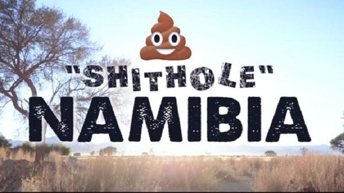 """""""Pays de merde"""" : la Namibie préfère en rire"""
