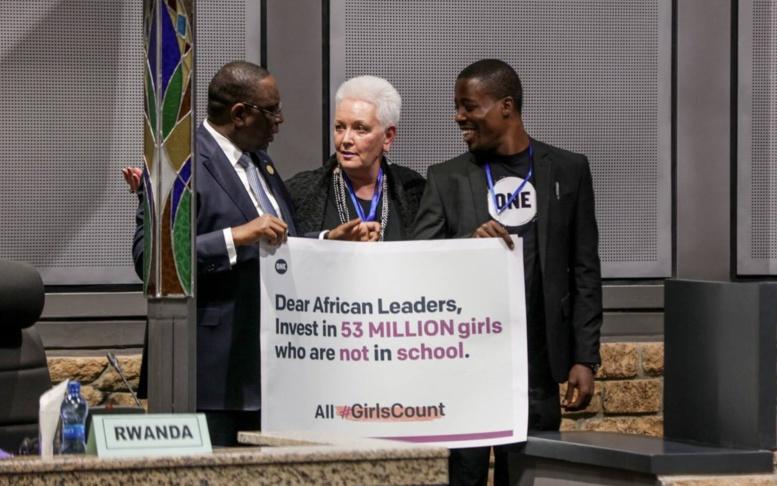 30e sommet de l'Union Africaine : Le Président Macky Sall plaide la cause de 53 millions de filles non scolarisées