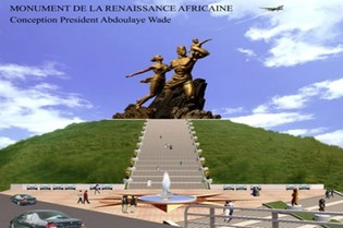 Inauguration du monument de la Renaissance africaine : une centaine d'artistes attendus au concert