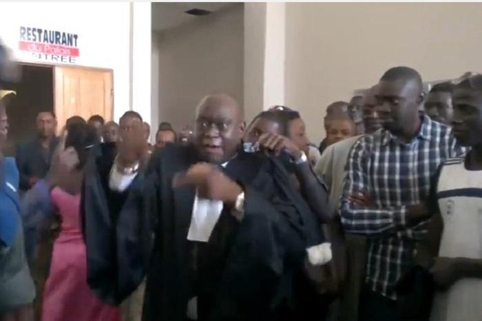 Direct tribunal: La plaidoirie qui a valu à Me El Hadj son exclusion du procès de Khalifa Sall et Cie