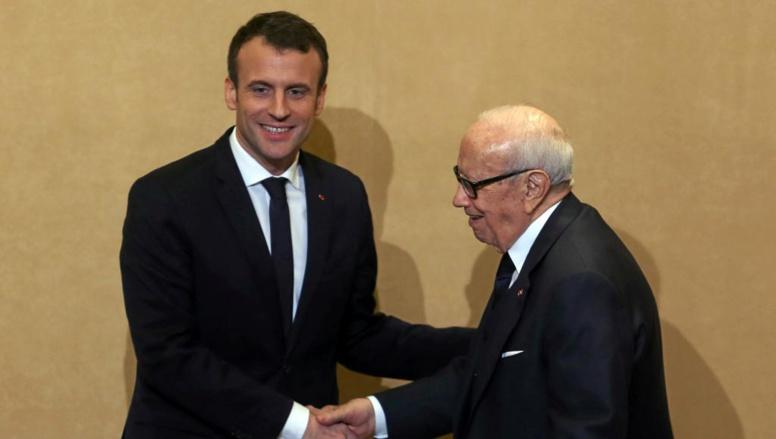 Emmanuel Macron se pose en «ami» de la Tunisie