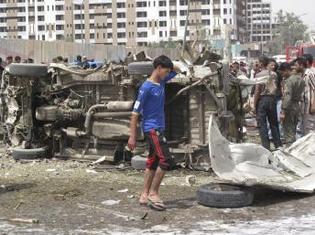 Irak : Un triple attaque-suicide à Bagdad fait au moins 30 morts