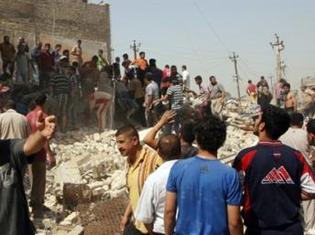 Série d'explosions coordonnées à Bagdad.