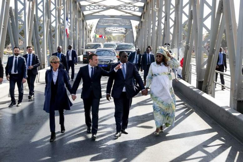 Langue de Barbarie de Saint-Louis : Macron annonce un financement de 30 milliards Fcfa pour stopper l'érosion côtière