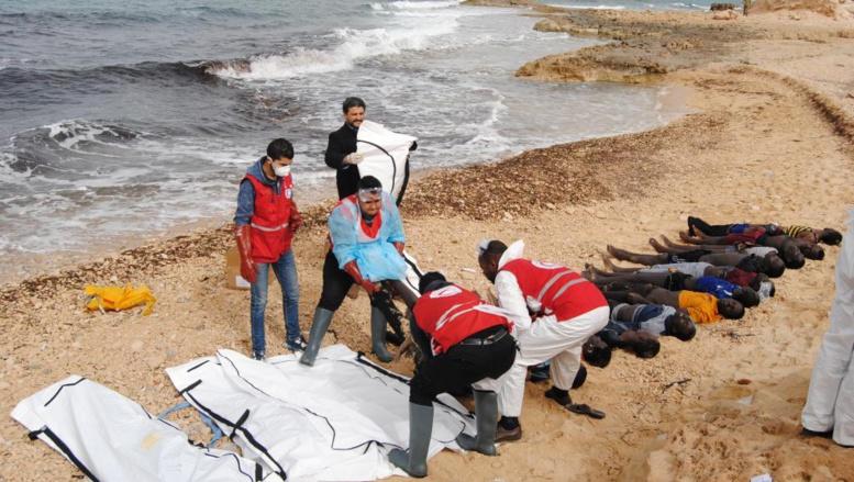 Près de 20 corps de migrants subsahariens retrouvés en mer Méditerranée
