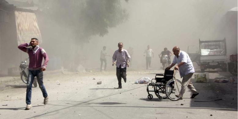 47 civils dont 10 enfants tués dans des raids du régime syrien (Osdh)