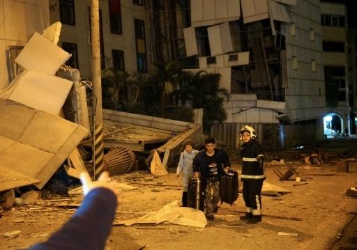 Taiwan : Un séisme fait deux morts et 114 blessés