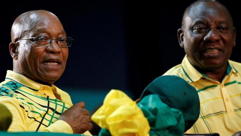 Afrique du Sud: Jacob Zuma poussé vers la sortie par Cyril Ramaphosa?