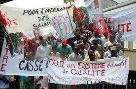 Remous dans le système éducatif : plus de 15 syndicats d'enseignants ont marché dans les rues de Thiès ce jeudi