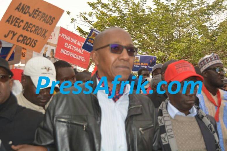 Marche de l'opposition : Abdoul Mbaye n'a pas badiné avec sa sécurité