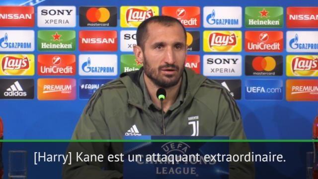 """VIDÉO - 8es - Chiellini: """"Impossible que j'arrête Kane"""""""