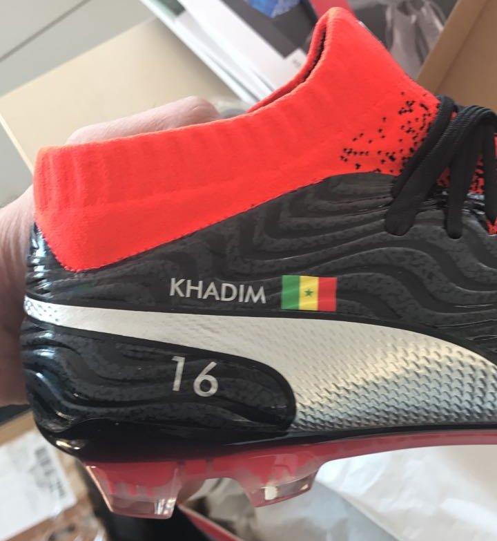 Puma :  Khadim Ndiaye est ambassadeur de la marque.