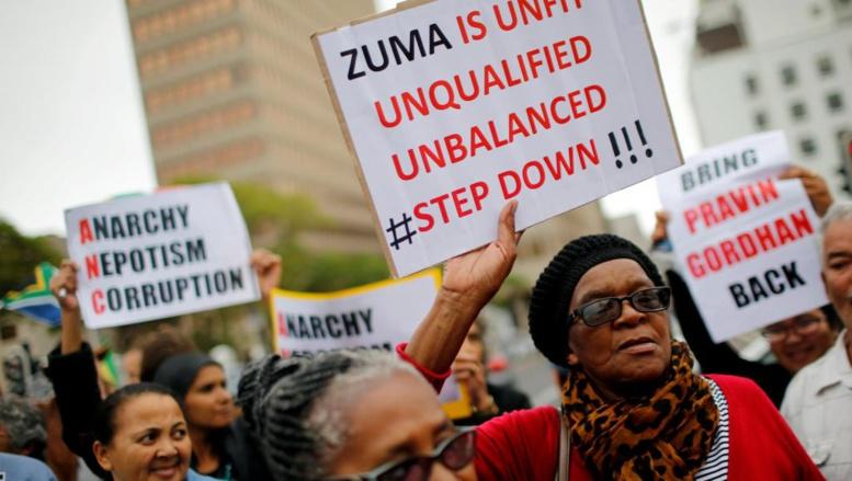 Afrique du Sud: réactions partagées après la démission du président Zuma