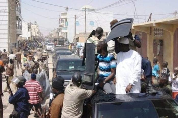 Les anciens gardes du corps de Macky Sall en grève de la faim reçoivent la visite du ministre Mansour Faye et...
