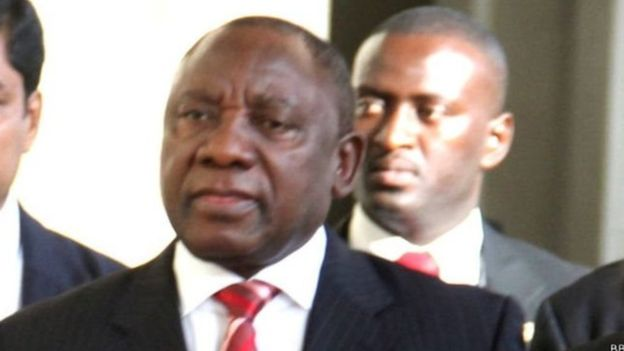 "Ramaphosa s'engage contre ""la corruption"""