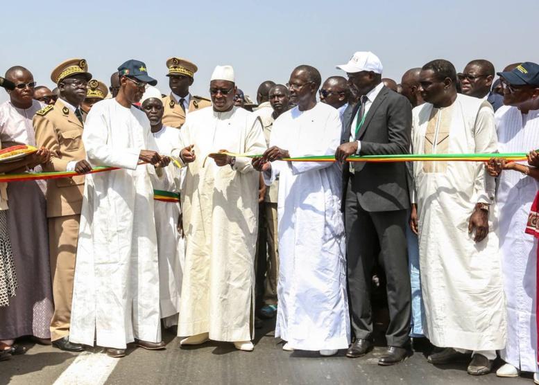 Route Passy-Sokone : L'Union européenne a financé à hauteur de 7,8 milliards Fcfa