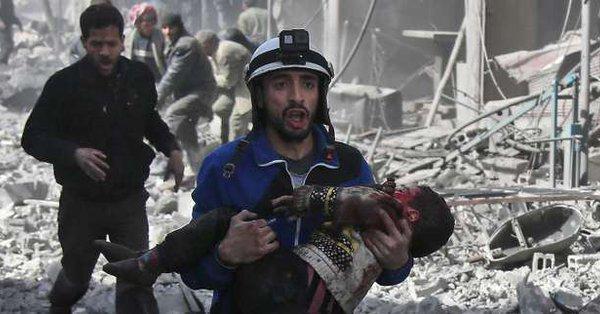 """Syrie : La presse internationale scandalisée qualifie le Ghouta du """"Sebrenica syrien"""""""