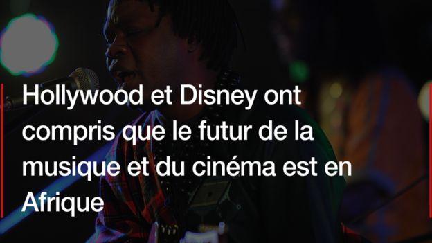 """""""Le futur du cinéma et de la musique est en Afrique"""", Baaba Maal"""