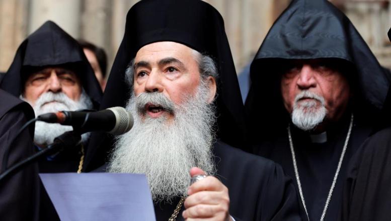 Jérusalem: les églises chrétiennes ferment le Saint-Sépulcre