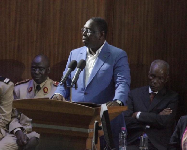 Le Président Macky Sall a installé ce mardi le Conseil supérieur de la fonction publique locale