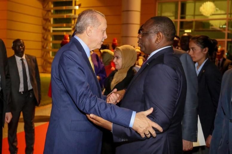 """Cette pique loufoque de Erdogan au Président Macky Sall : """"Mach'Allah tu as beaucoup d'enfants, moi j'en ai 20"""""""