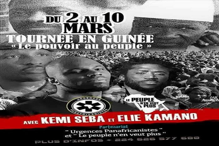 L'activiste politique Kémi Séba attendu à Conakry ce vendredi — Société
