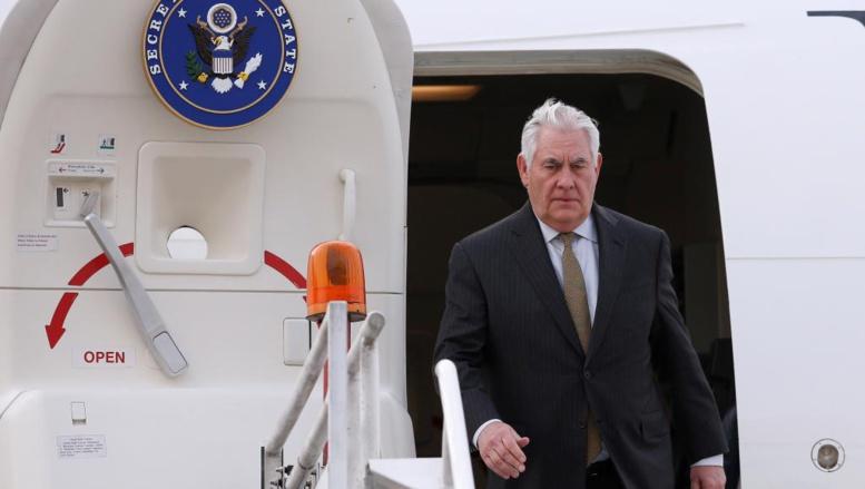 Première tournée en Afrique du secrétaire d'Etat américain Rex Tillerson