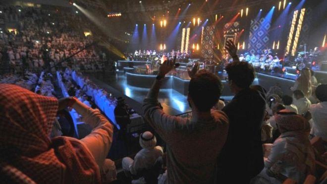 """Arabie saoudite: """"interdit de danser ou de se trémousser"""" en concert"""