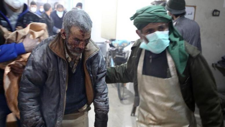 Syrie: la Ghouta orientale coupée en deux, l'aide humanitaire reportée