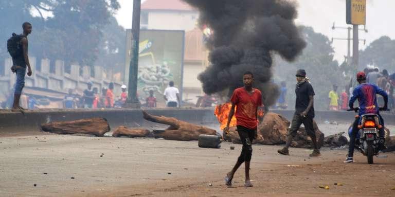 En Guinée, des milliers d'« Amazones » exigent la fin des violences policières meurtrières