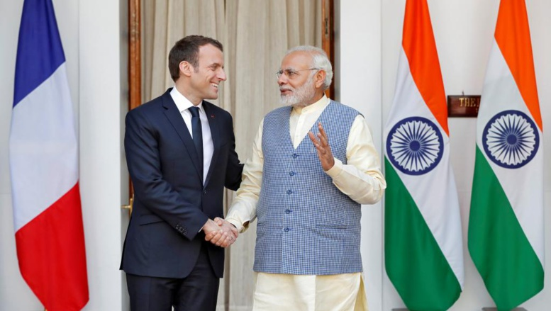 Macron en Inde pour relancer le partenariat stratégique franco-indien