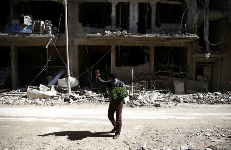 Syrie : la ville de Douma isolée dans le Ghouta orientale