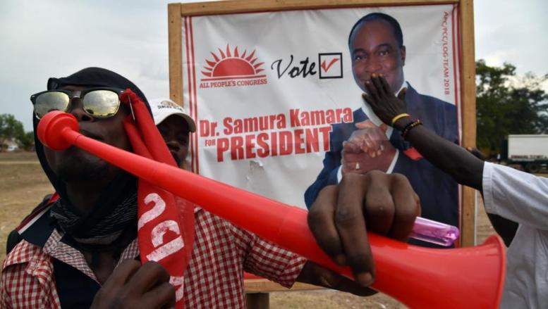 Elections générales en Sierra Leone: vers un second tour pour la présidentielle