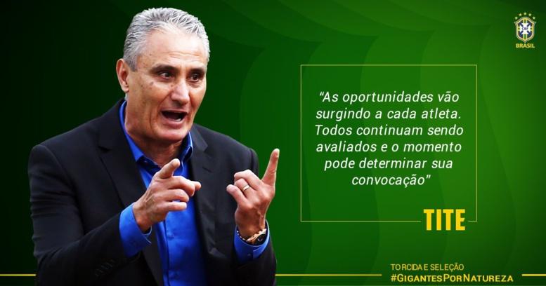 Brésil : plusieurs surprises dans la liste de Tite