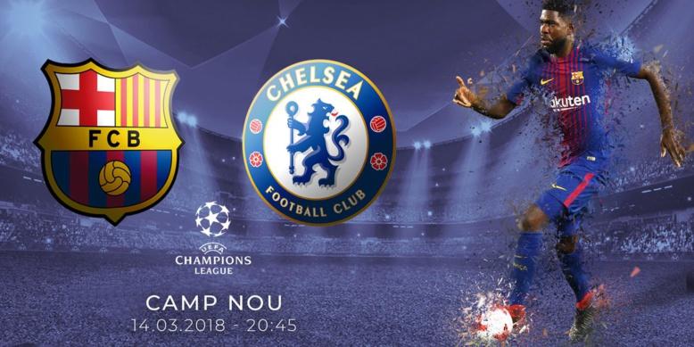 Le groupe du FC Barcelone pour affronter Chelsea en Ligue des champions