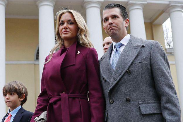 Donald Trump Jr et sa femme Vanessa au bord du divorce ?