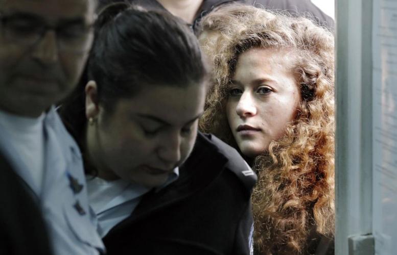 L'icône de la lutte palestinienne, Ahed Tamimi condamnée à 8 mois de prison