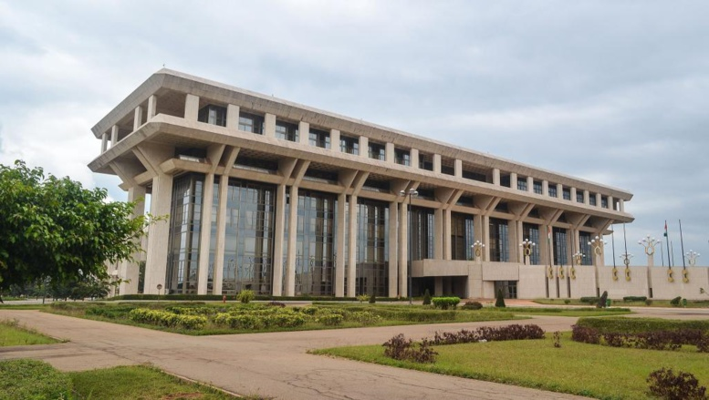 La Fondation Félix Houphouët-Boigny pour la Recherche de la Paix à Yamoussoukro, où siègera le futur Sénat. © Wikimedia commons