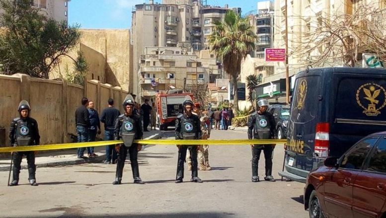 Bilan de l'attentat d'Alexandrie : un policier tué et quatre autres blessés
