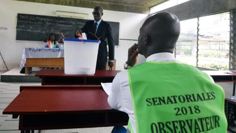 Sénatoriales en Côte d'Ivoire: sans surprise, le camp présidentiel rafle la mise