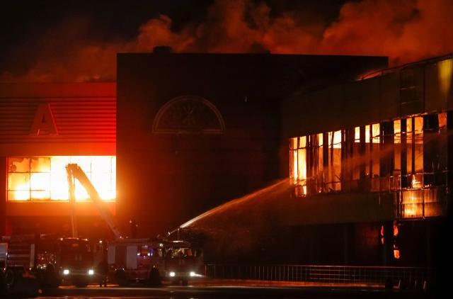 Russie : Un incendie dans un centre commercial fait 37 morts