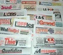 Un prochain ouvrage sur presse et politique au Sénégal.