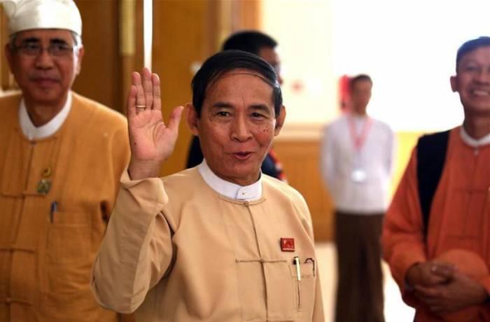 Birmanie: Win Myint élu président