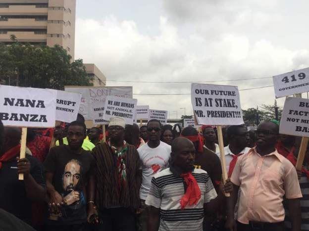 Marche au Ghana contre un accord de défense avec les USA