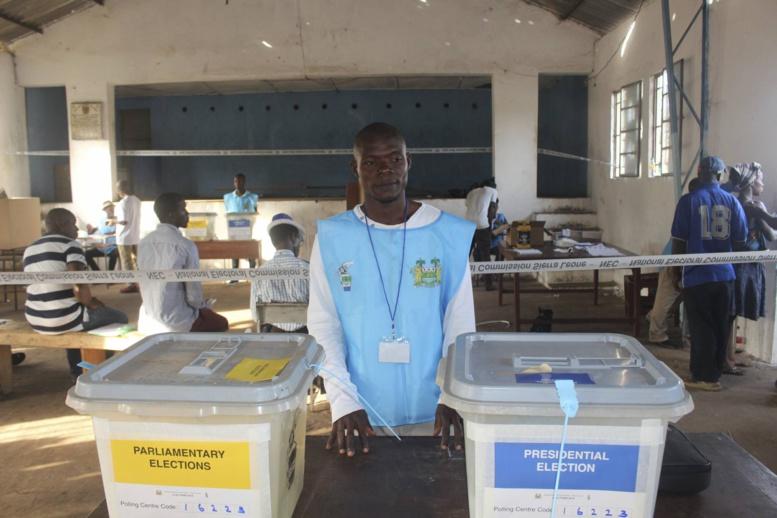 Sierra Leone : le second tour de la Présidentielle commence ce samedi